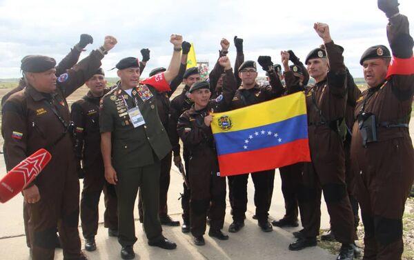 Delegación venezolana en los Juegos Militares Internacionales Army 2019 - Sputnik Mundo