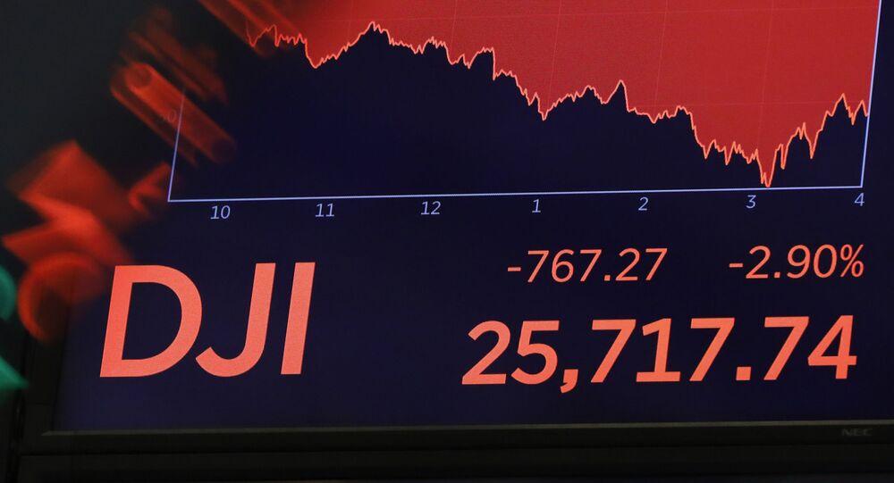 La caída del índice Dow Jones el 5 agosto