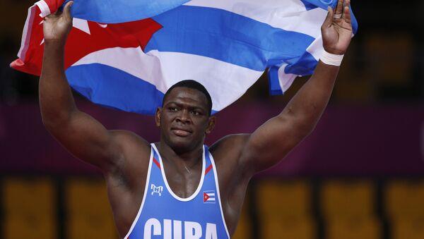 Mijaín López, luchador cubano - Sputnik Mundo