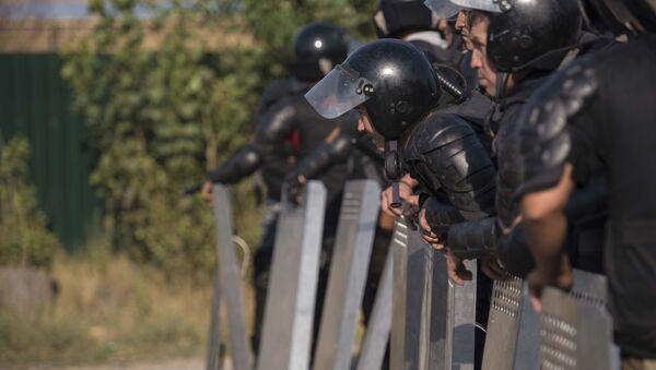 Policía de Kirguistán - Sputnik Mundo