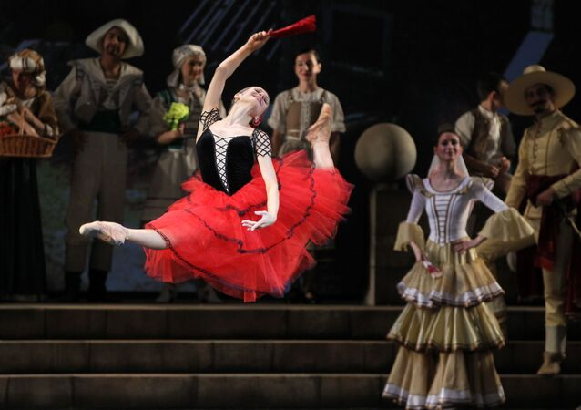 Ballet 'Don Quijote' (imagen referencial)