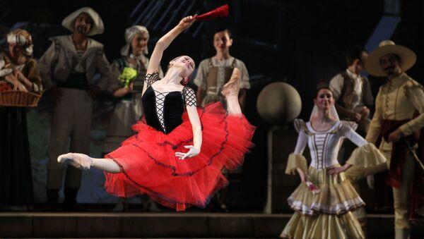 Ballet 'Don Quijote' (imagen referencial) - Sputnik Mundo