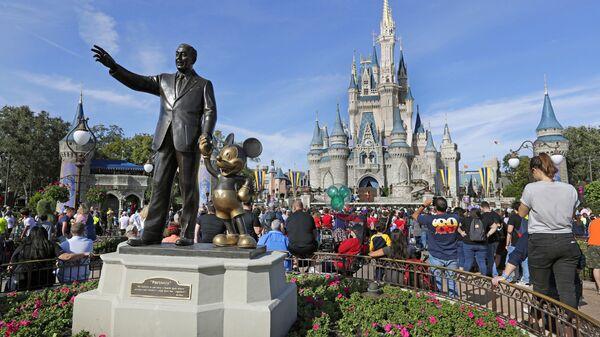 El parque de Disney en Orlando, EEUU - Sputnik Mundo