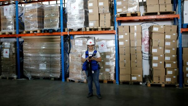 Asistencia humanitaria de la Cruz Roja en Venezuela - Sputnik Mundo