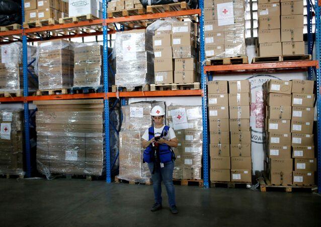 Asistencia humanitaria de la Cruz Roja en Venezuela