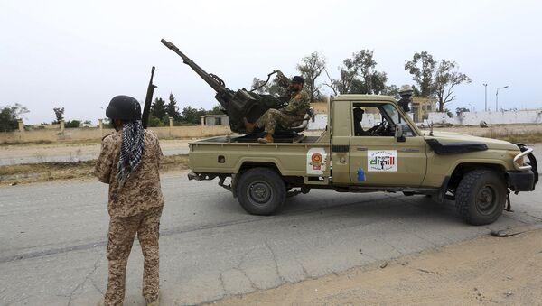 Fuerzas del Gobierno de Unidad Nacional de Libia  - Sputnik Mundo