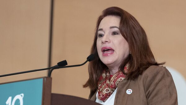 María Fernanda Espinosa, presidenta de la Asamblea General de Naciones Unidas - Sputnik Mundo