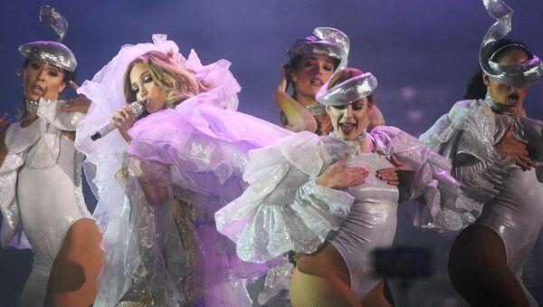 Un concierto de Jennifer Lopez (archivo) - Sputnik Mundo