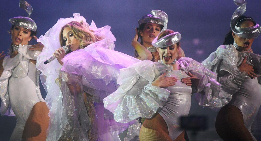 Un concierto de Jennifer Lopez (archivo)