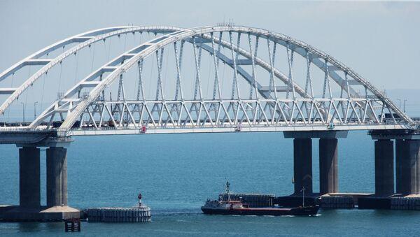 El puente sobre el estrecho de Kerch - Sputnik Mundo