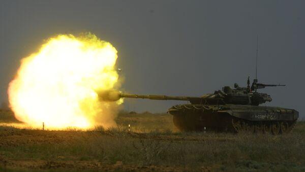 Un tanque T-90  (archivo) - Sputnik Mundo