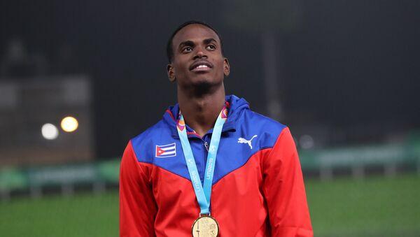 Luis Zayas, atleta cubano - Sputnik Mundo