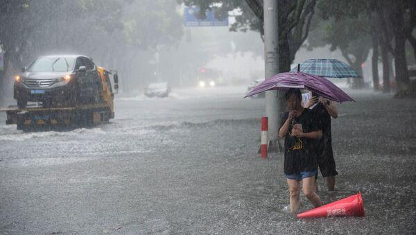Tifón Lekima en China - Sputnik Mundo