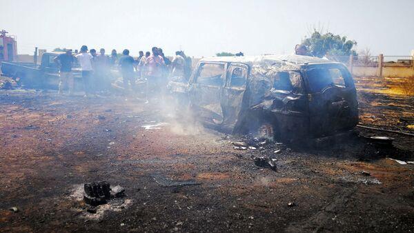Explosión de coche bomba en Bengasi, Libia (archivo) - Sputnik Mundo