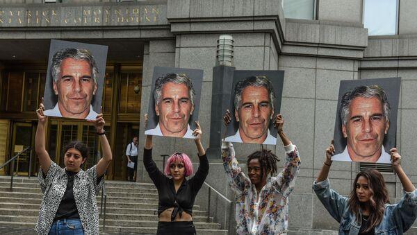 Los retratos de Jeffrey Epstein, multimillonario estadounidense - Sputnik Mundo