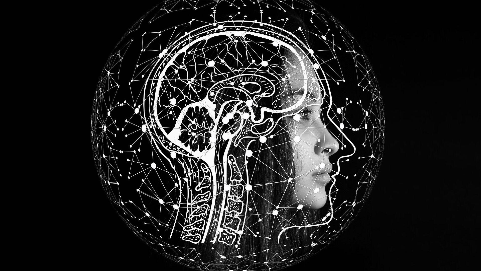 Un cerebro - Sputnik Mundo, 1920, 07.07.2021