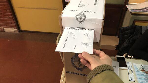 Las elecciones Primarias Abiertas Simultáneas y Obligatorias (PASO) en Argentina - Sputnik Mundo