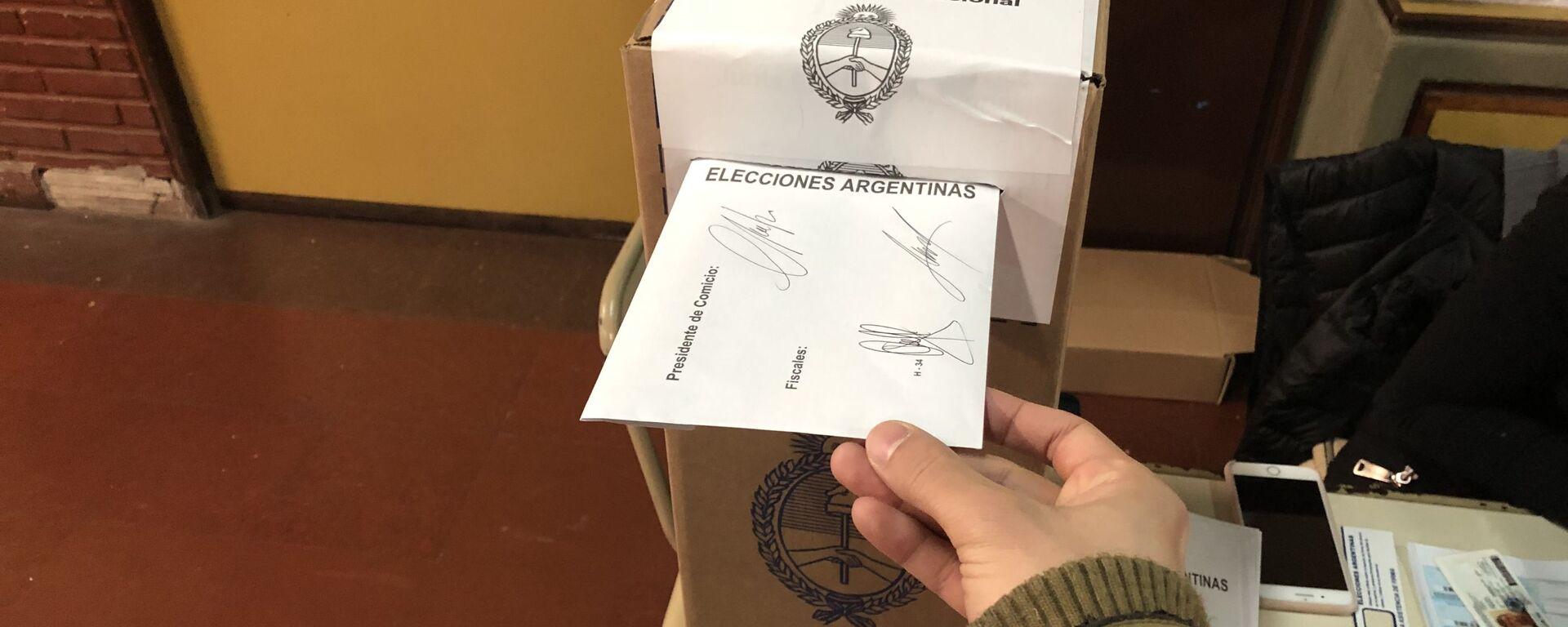 Las elecciones Primarias Abiertas Simultáneas y Obligatorias (PASO) en Argentina - Sputnik Mundo, 1920, 21.07.2021