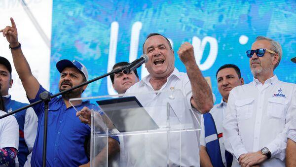 Alejandro Giammattei, candidato presidencial de Guatemala - Sputnik Mundo