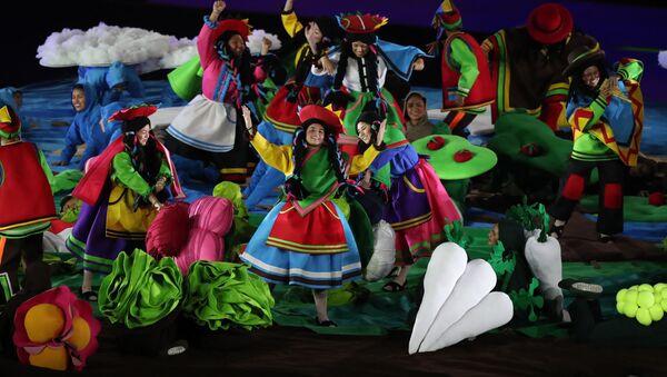 Así fue la colorida ceremonia de clausura de los Juegos Panamericanos de Lima - Sputnik Mundo