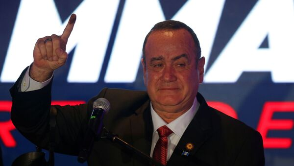 Alejandro Giammattei, presidente electo de Guatemala - Sputnik Mundo