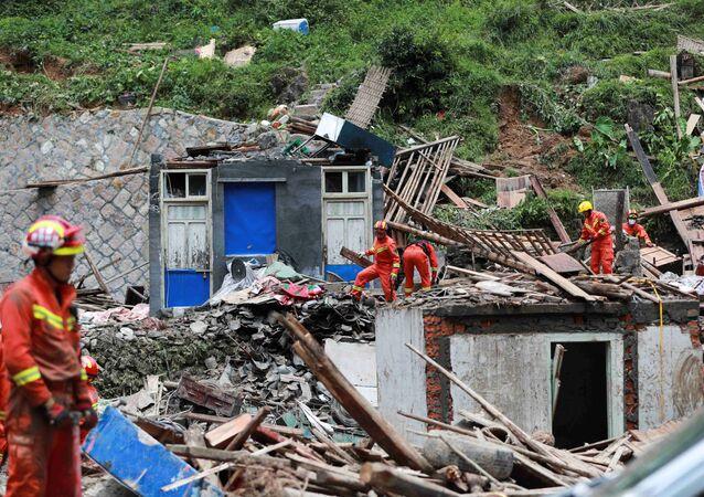 Consecuencias del tifón Lekima en China