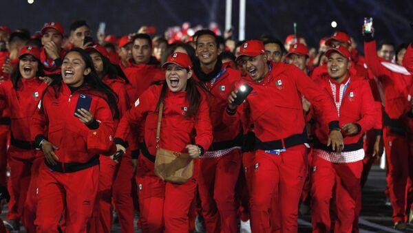 Atletas mexicanos en los Juegos Panamericanos de Lima 2019 - Sputnik Mundo
