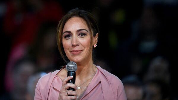 María Eugenia Vidal, gobernadora de la provincia argentina de Buenos Aires  - Sputnik Mundo