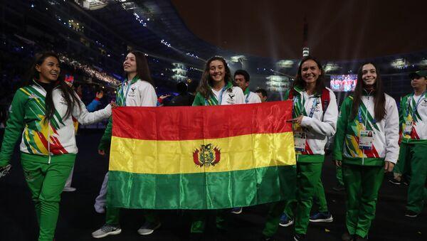 Atletas bolivianas en los Juegos Panamericanos de Lima 2019 - Sputnik Mundo