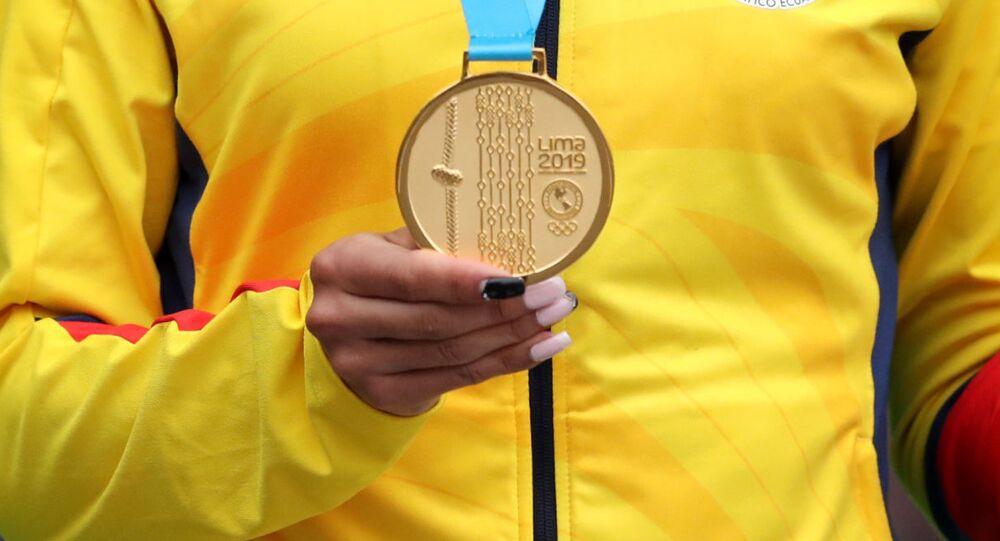 Una medalla de oro de los Juegos Panamericanos de Lima 2019