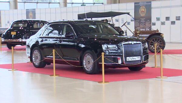 Los autos de los hombres más poderosos de Rusia y la URSS se exhiben en Moscú - Sputnik Mundo