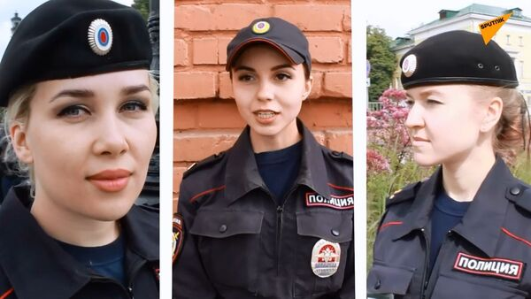 Las hermosas mujeres policías rusas - Sputnik Mundo