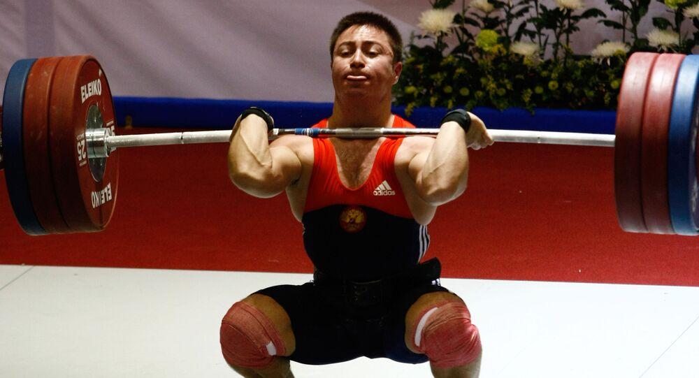 Pesista ruso Oleg Chen
