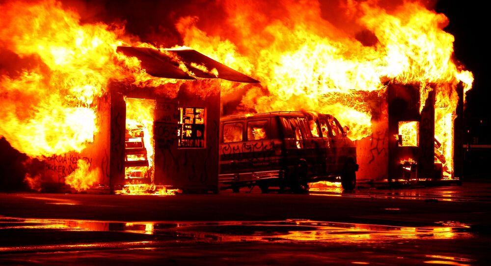 Incendio (imagen referencial)