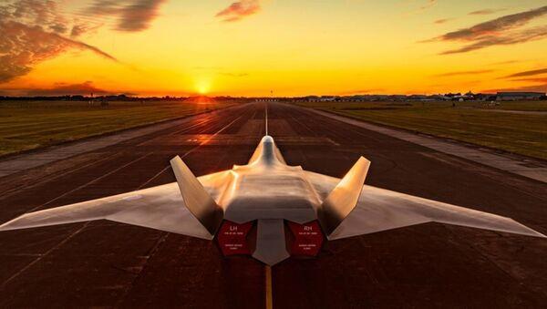 El caza de nueva generación británico del proyecto Tempest - Sputnik Mundo