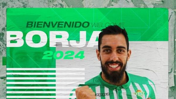 Borja Iglesias, nuevo futbolista del Real Betis  - Sputnik Mundo