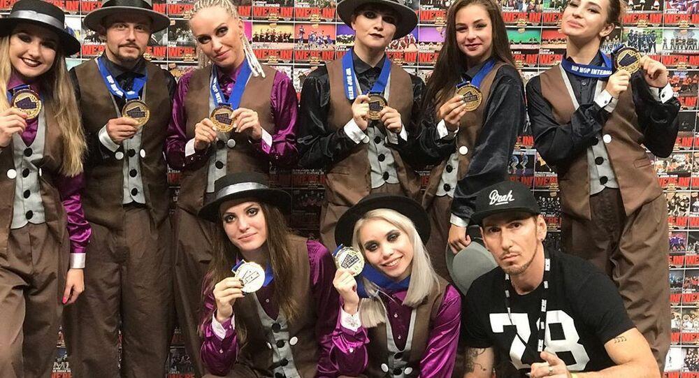 Bailadores del equipo ruso Banda ILL ganan el mundial de Hip Hop en EEUU