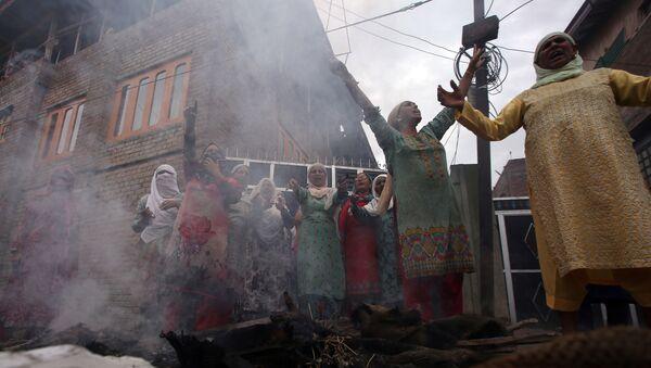 Protestas en Cachemira - Sputnik Mundo