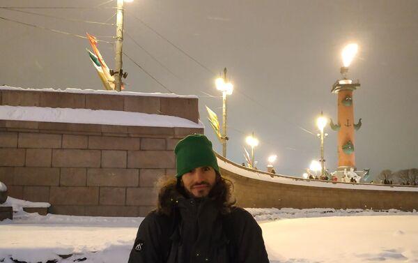 Pablo en la Isla Vasílievski - Sputnik Mundo
