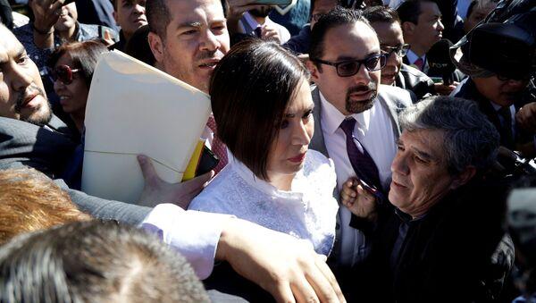 Rosario Robles, extitular de Desarrollo Social de México - Sputnik Mundo