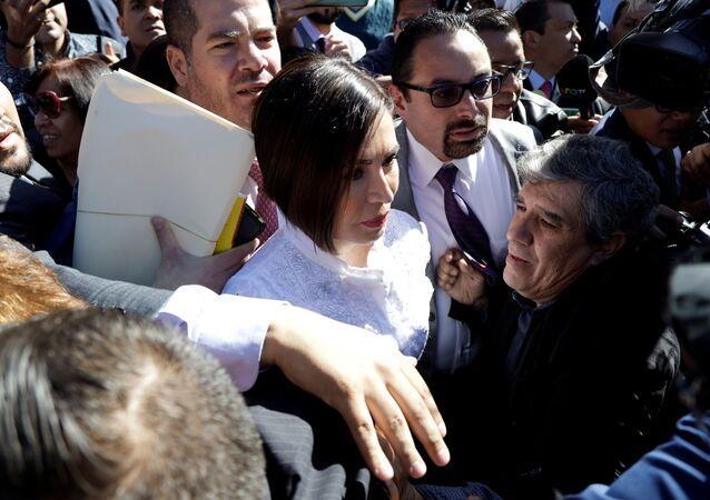 Rosario Robles, extitular de Desarrollo Social de México