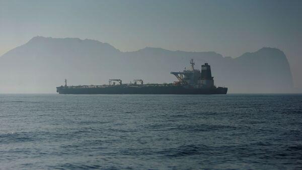 El petrolero iraní Grace 1 - Sputnik Mundo