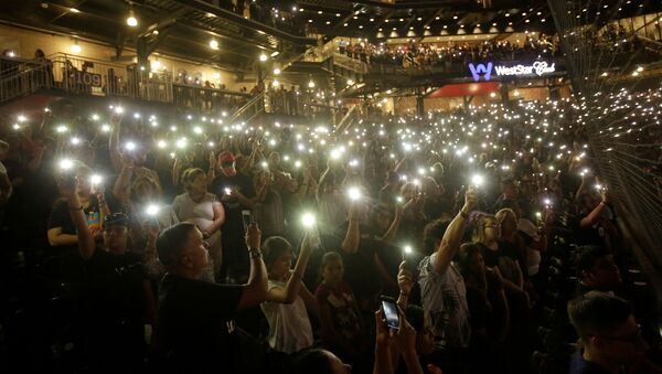 Ceremonia luctuosa en El Paso - Sputnik Mundo