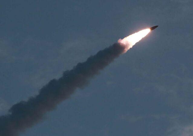 Lanzamiento de un misil norcoreano (Archivo)