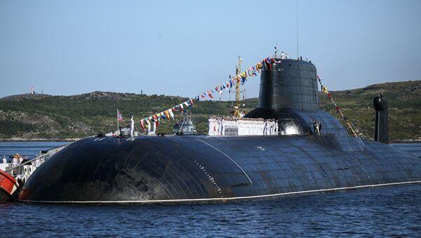 El submarino de la Armada rusa 'Dmitri Donskoy' - Sputnik Mundo