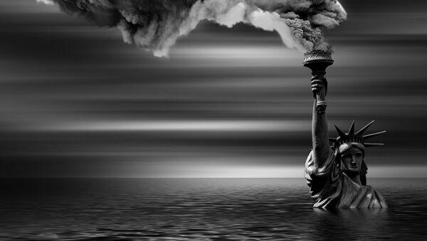 La Estatua de la Libertad, posibles consecuencias del cambio climático - Sputnik Mundo
