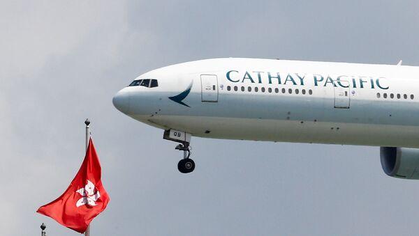 Cathay Pacific, aerolínea bandera de Hong Kong - Sputnik Mundo