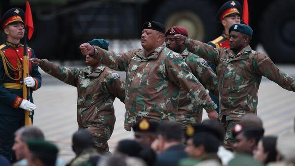 Militares de Sudáfrica durante los Juegos Militares Internacionales Army 2019 - Sputnik Mundo