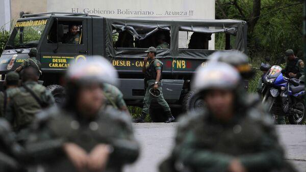 La Guardia Nacional Bolivariana de Venezuela (GNB) - Sputnik Mundo