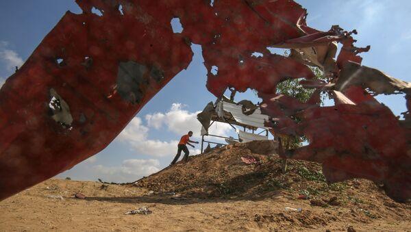 Consecuencias de los ataques israelíes en Gaza - Sputnik Mundo